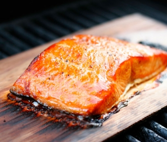 Applewood Smoked Wild Salmon With Granny Smith Apples