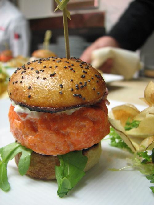 Wild Alaskan Coho Salmon Burger