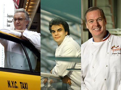 Ducasse, Kreuther, and Torres