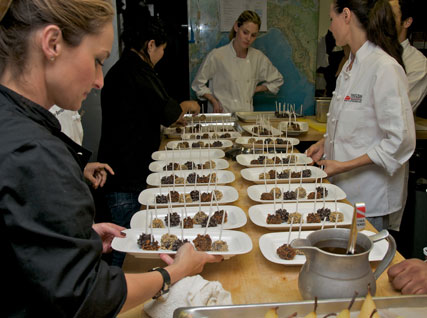 Giada with truffles