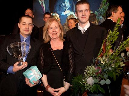 Susan Ungaro with winners