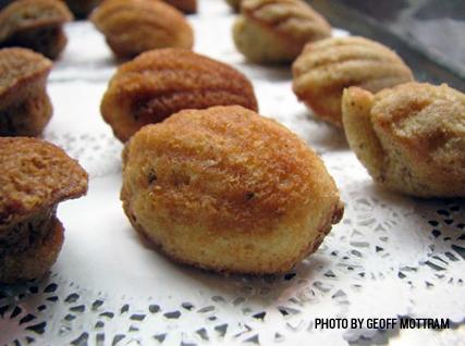 savory madeleines