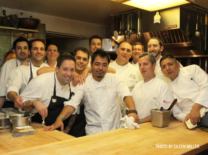 José Andrés with his crew