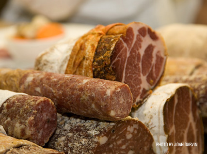 Assorted salame