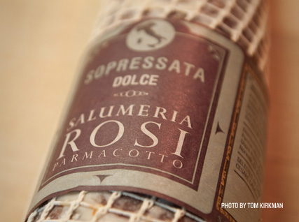 Soppressata from Salumeria Rosi.
