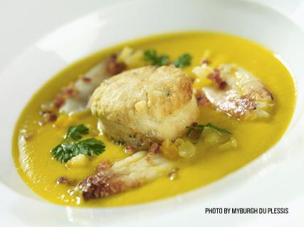 Gary Danko's butternut squash soup