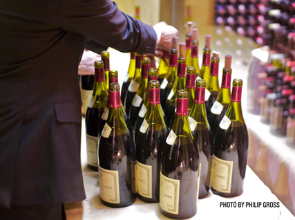 Bottles of Louis Jadot Bonnes Mares Grand Cru