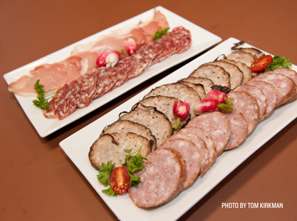 Charcuterie prepared by students from the French Culinary Institute
