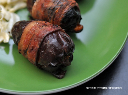 Timon Balloo's bacon-wrapped dates