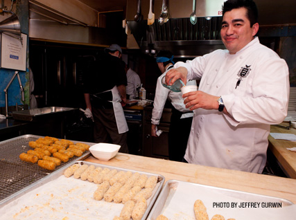 Jose Garces at the James Beard House