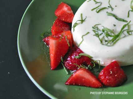 Alan Wong's Goat Cheese Panna Cotta