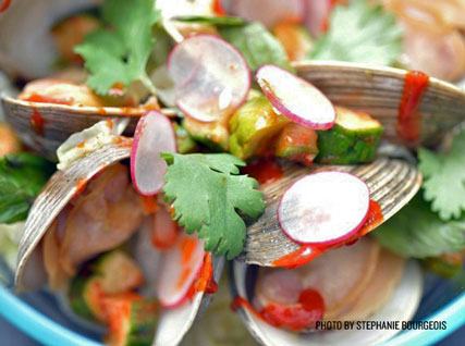 Korean-Style Clams