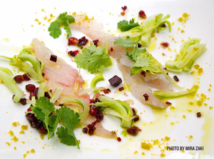 grouper carpaccio