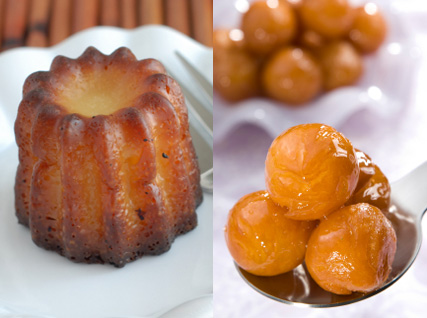 canele and lokma