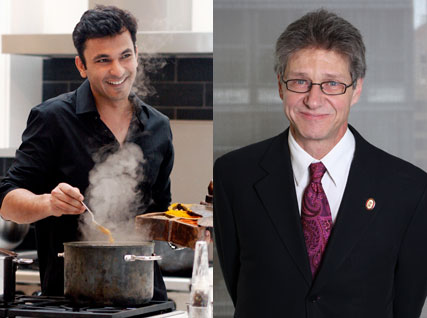 Vikas Khanna and Scott Carney