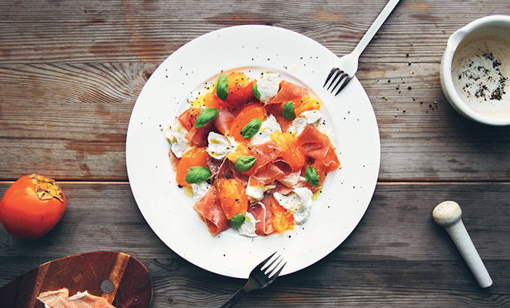 Prosciutto And Persimmons Are A Match Made In Heaven James Beard