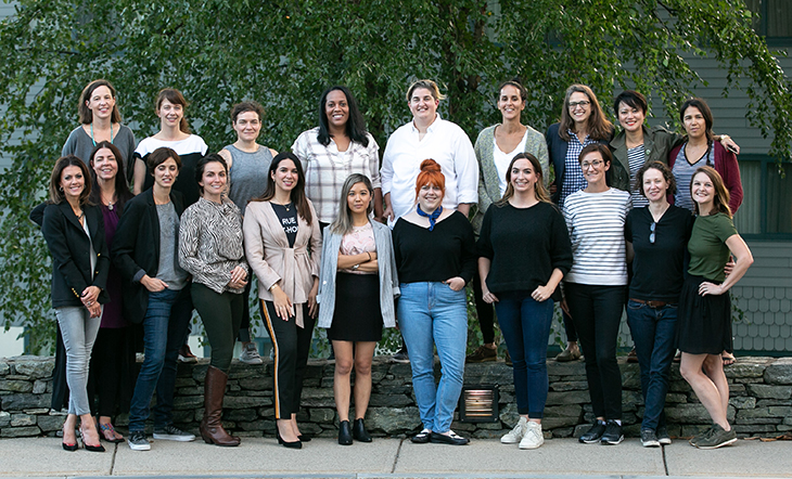 The 2018 Women in Entrepreneurial Leadership Fellows (Photo: Paige Brown Photography)