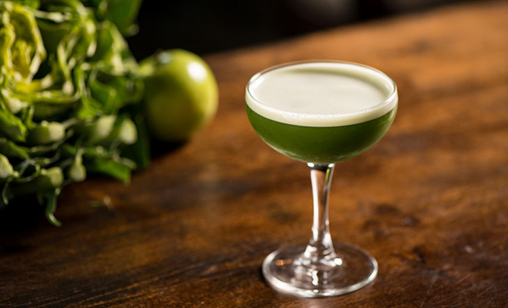 Green Eyed Bandit Cocktail