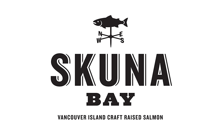 Skuna Bay Salmon Logo