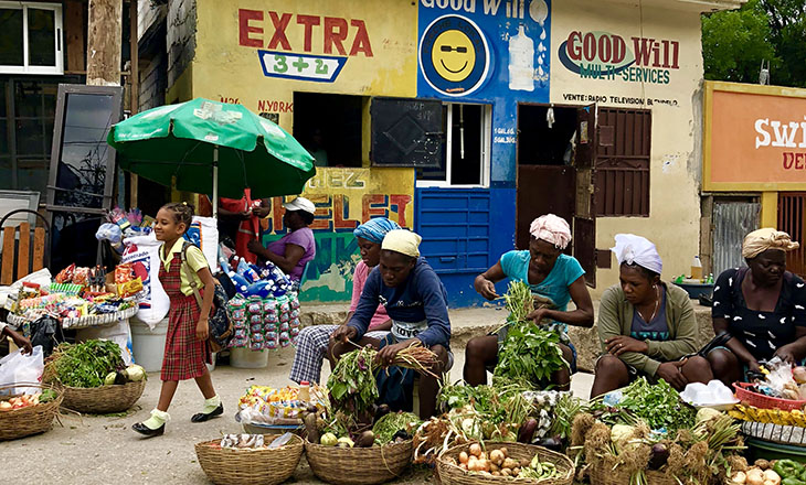 Vegetable Vendors in Haiti