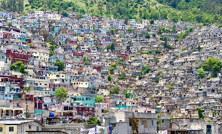 Houses in Haiti