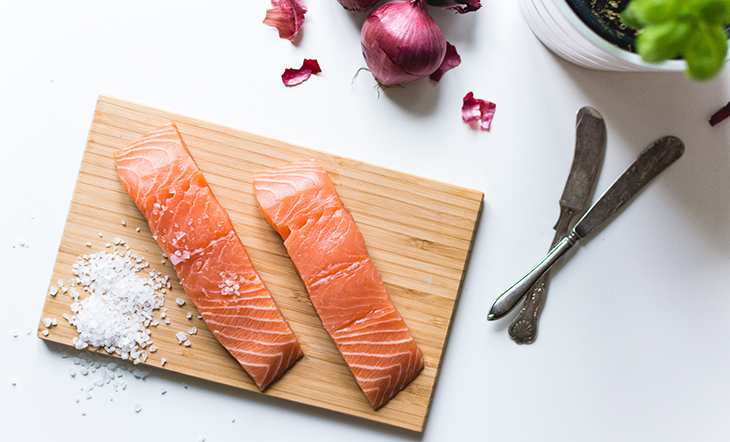 Salmon Salt Getty