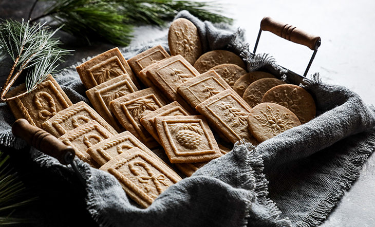 Spekulaas cookies photo and styling by Judy Kim