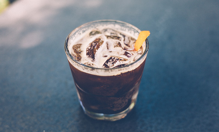 Crema's coffee soda photo by Ben Lehman