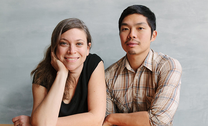 Karen Leibowitz and Anthony Myint photo by Alanna Hayle
