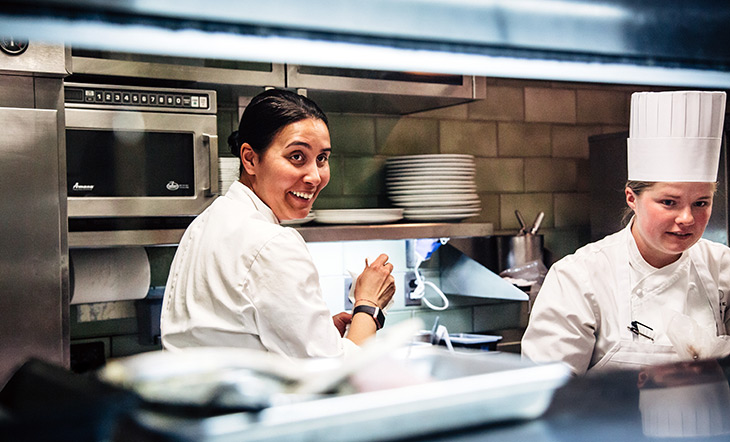 James Beard Award winner Ghaya Oliveira photo by Rick O'Brien