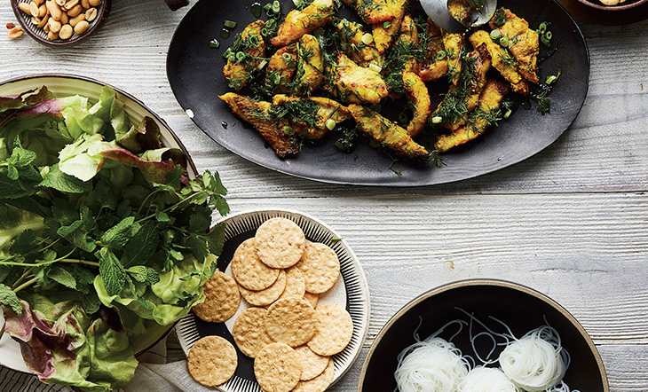 Turmeric fish from Vietnamese Every Day photo by Aubrie Pick