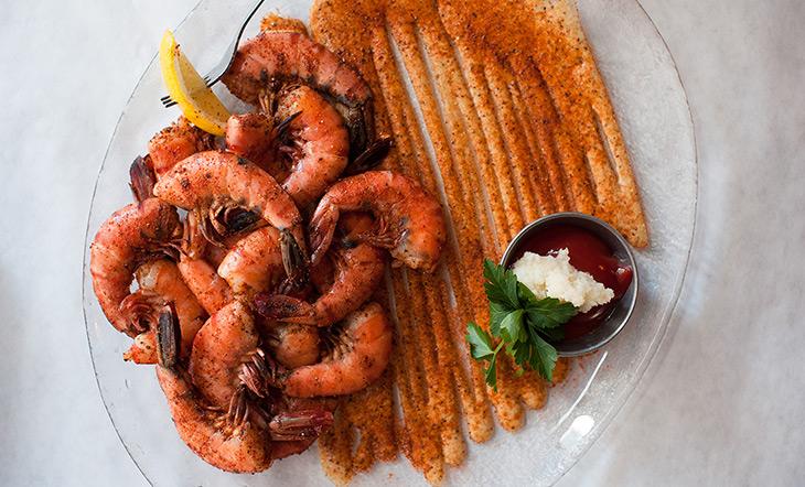 Jax Fish House peel-and-eat shrimp photo Courtesy of Jax Fish House & Oyster Bar
