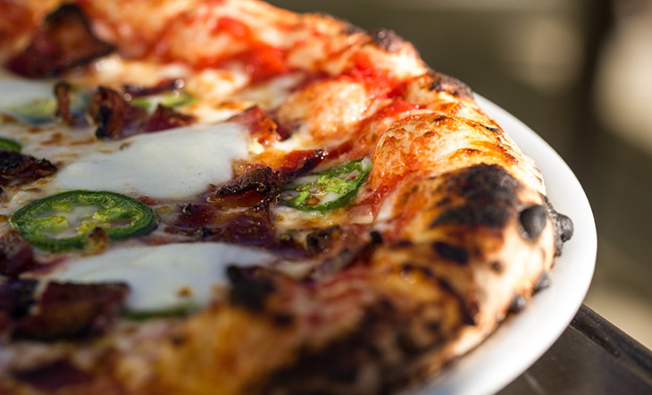 Crosscut Pizza photo by Lindsay Foy