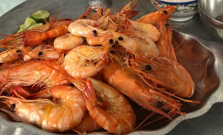Shrimp Mitchell Davis