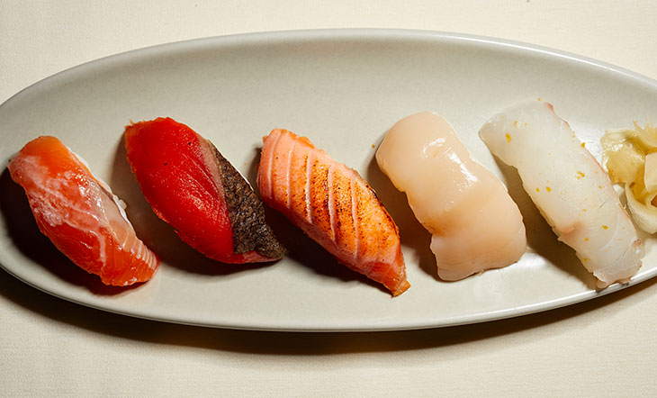 Sushi photo by David Chow