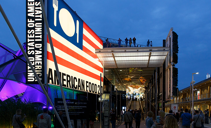USA Pavilion at Expo Milano 2015 Getty Images