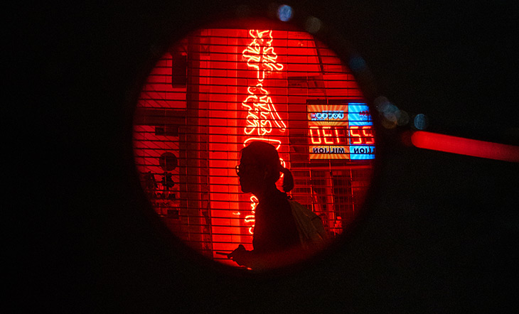 Chinatown window photo by Dave Krugman