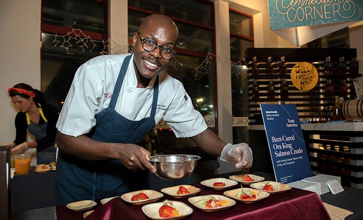 Chef Josue Louis of Bistro du Midi (photo: Melissa Ostrow/Mel O Photo)
