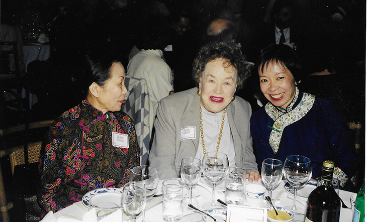 Julia Child and Grace Young photo courtesy of Grace Young