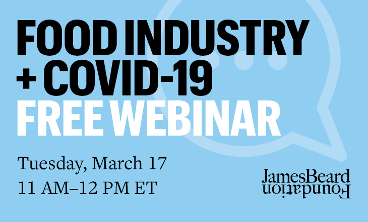 Food Industry and COVID-19 webinar