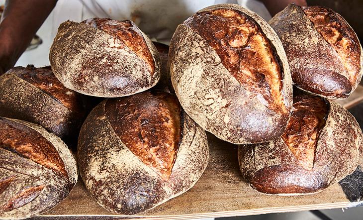 Breads from Saraghina Bakery photo courtesy of Saraghina