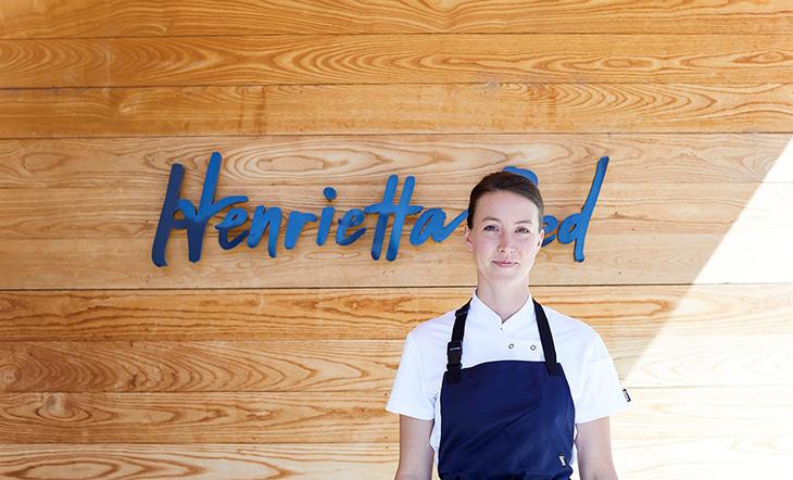 Chef Julia Sullivan of Party Line and Henrietta Red photo Emily Dorio