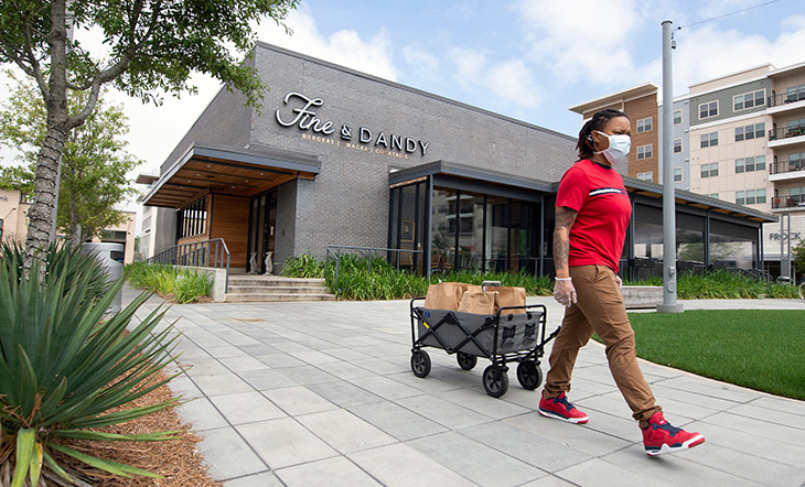 Delivery at Fine & Dandy photo The Clarion Ledger