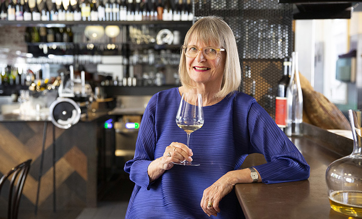 2020 Cookbook Hall of Fame recipient Jancis Robinson photo by Elizabeth Clancy