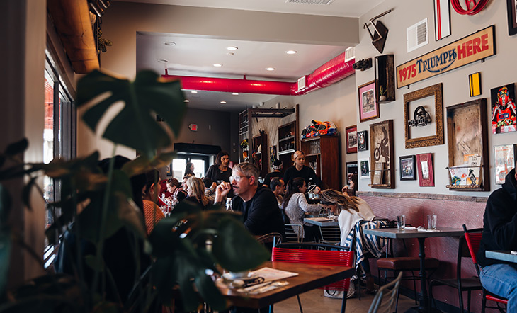 Gasolina Cafe photo by Cecile Michaelis
