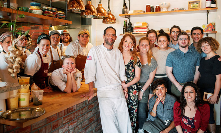 The Lights and employees at Ronin photo Amanda Light