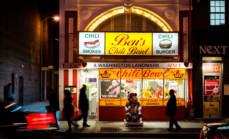 Ben's Chili Bowl in Washington, D.C. photo by James Collier