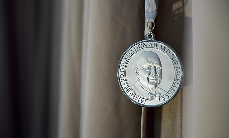 James Beard Awards medallion photo Kent Miller Studios
