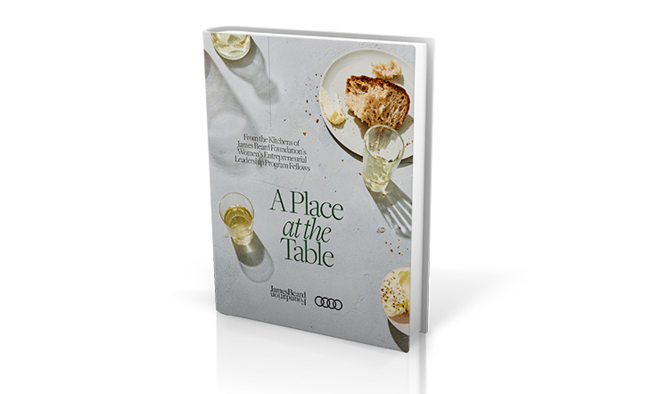 Cover image of A Place at the Table cookbook