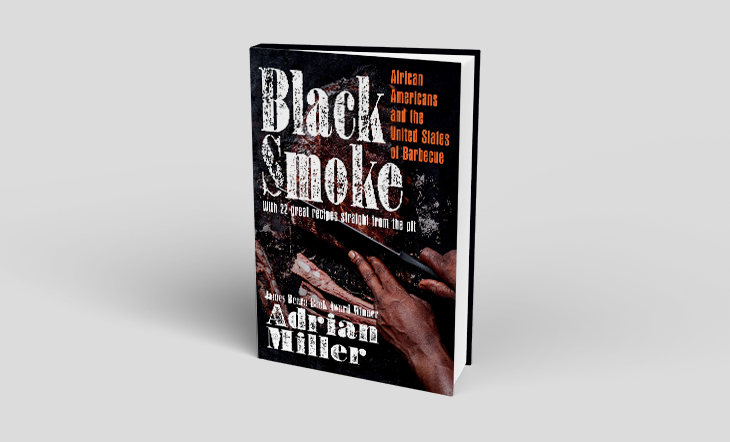 Cover shot of the book, Black Smoke